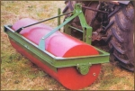 фото Односекционные навесные водоналивные катки для грунта