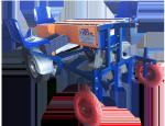 Полунавесная полуавтоматическая трехрядная чеснокосажалка Туляк-3